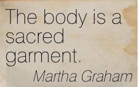 body sacred garment