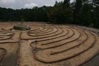 Labyrinth during the day